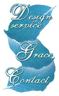 Design Service;  link to Grace; Contact
